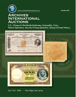 Archives International Sale 60 cover front