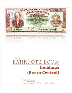 Banknote Book Honduras chapter