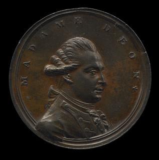 Madame D'Eon medal