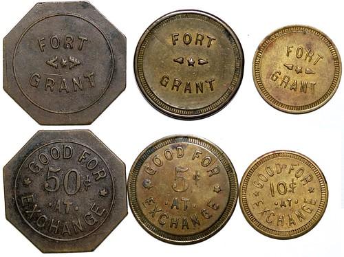 Fort Grant Arizona Exchange Tokens