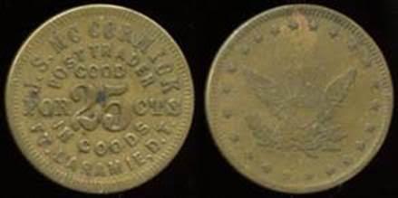McCORMICK  POST TRADER token