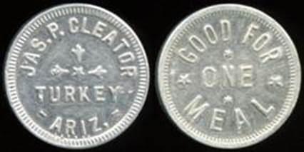 CLEATOR TURKEY Arizona token