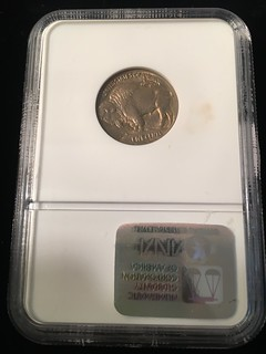Rev. Image #2 1913 Type One Buffalo Nickel