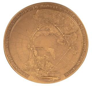 Howard Hughes Congressional Gold Medal reverse