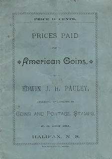 PAULEY, EDWIN c. 1892 Prices Paid for American Coins