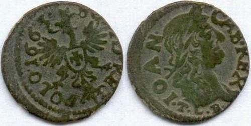 Charon's obol coin of Sigismund III Vasa, king of Poland