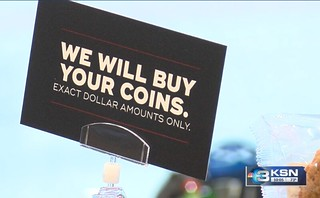 We will buy your coins sign
