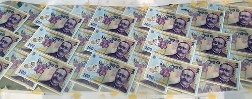counterfeit Romania banknotes