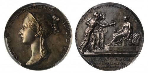 1838 Coronation of Victoria Medal