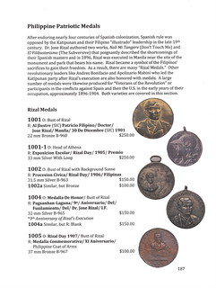 Philippine Medals and Tokens 3rd Edition P. 187