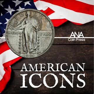 Standing Liberty Quarter American Icons