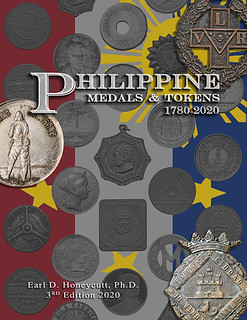 Philippine Medals and Tokens 3rd Edition Cover