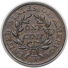 1803 Large Cent S-258 reverse