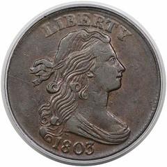 1803 Large Cent S-258 obverse