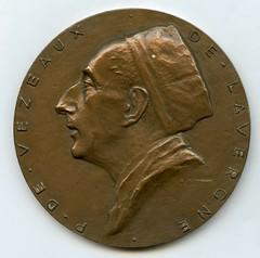 Paulin de Lavergne Bacteriology Medal obverse