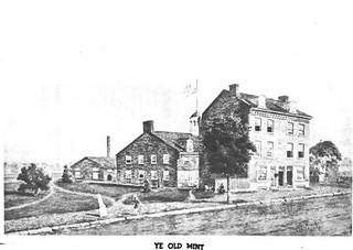 First United States Mint buildings Philadelphia