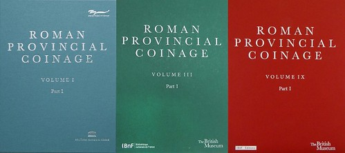 Roman Provincial Coinage volumes