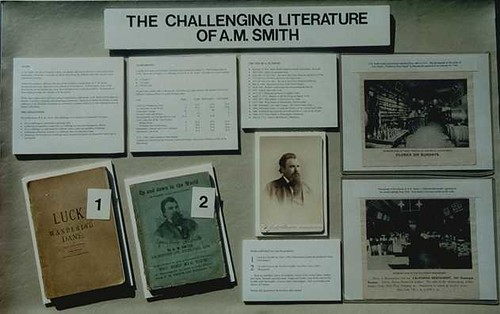 The Challenging Literature of A.M. Smith exhibt case01