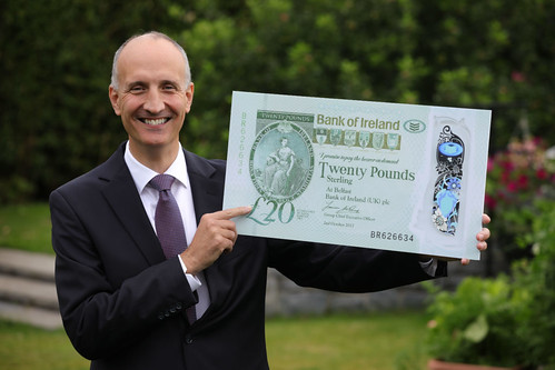 Bank of Ireland new polymer 20 pound note 2020