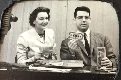 Harold Don Allen On Televivion 1959