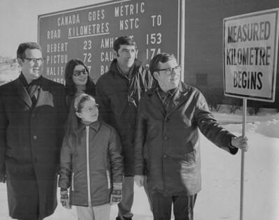Harold Don Allen Canada Goes Metric
