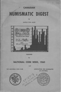 Numismatic Digest Cover Re Don Allen