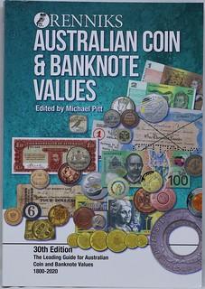 2020 Renniks Australian Coin & Banknote book cover