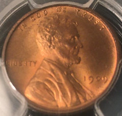 1909 VDB cent obverse