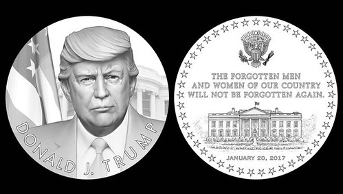 Recommended Trump Presidential Medal Designs