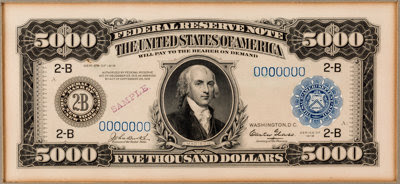 Grinnell $5,000 note