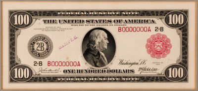 Grinnel $100 note