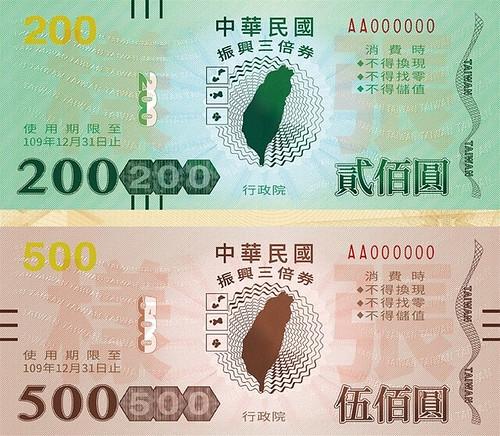 Taiwan 2020 stimulus vouchers