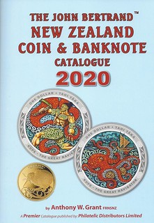 John Bertrand New Zealand Coin and Banknote Catalogue 2020 book cover