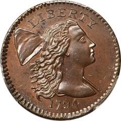 1794 cent obverse