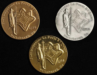 2004 Pittsburgh ANA Convention Medal Set obverses