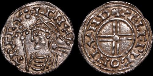 ANGLO-SAXON. Cnut. 1016-1035. AR penny