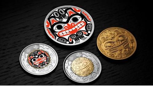 Bill Reid Canadian coins
