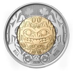 Bill Reid Canada $2 coin