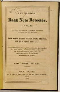 A. S. Gear NationalBank Note Detecter