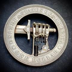 Roman Butin Sword coin reverse