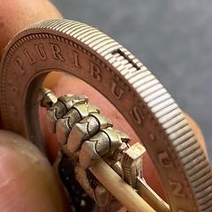 Roman Butin Sword coin edge