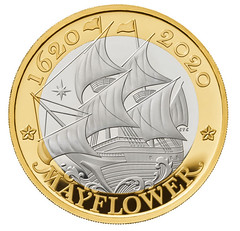 Royal Mint Mayflower 400th Anniversary Coin