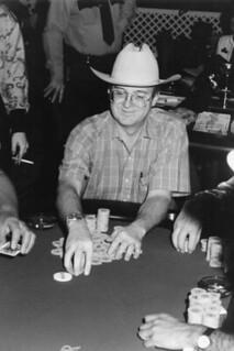 John Jenkins playing poker