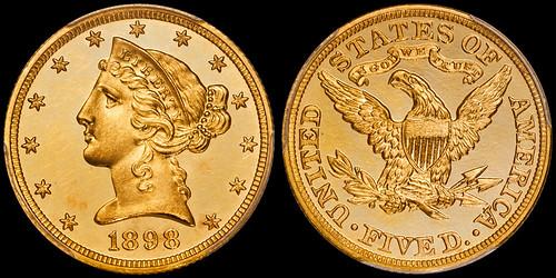 1898 Proof Half Eagle