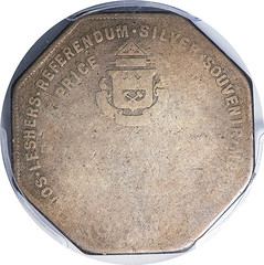 Lesher Dollar D. W. Klein reverse