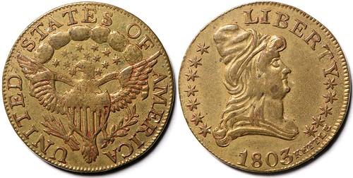 1803 Quarter Eagle Kettle Counter