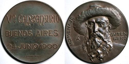 Gutenberg Medal