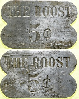 Roost Brothel 5-cent Token