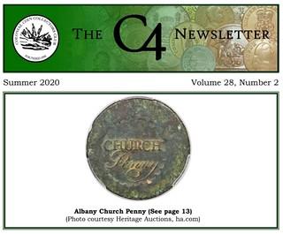 C4 Newsletter Summer 2020 cover
