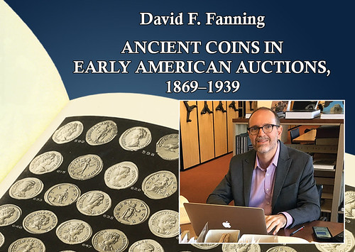 Fanning talk on Ancient Coins in US catalogs
